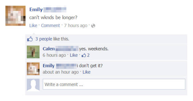 Some Of The Best Burns And Comebacks On Facebook