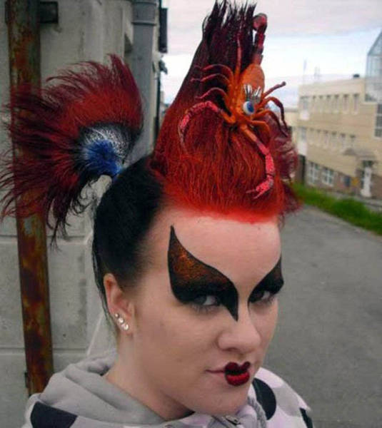 Some Of The Craziest And Wildest Hairdos Ever Seen