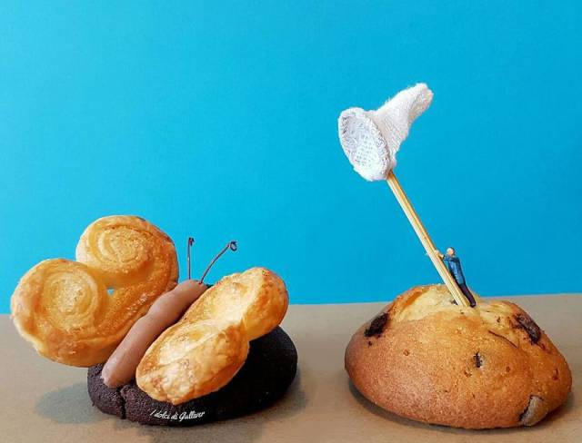 Creative Pastry Chef Combines Little Figurines With Desserts That Makes It Look Like Miniature Worlds