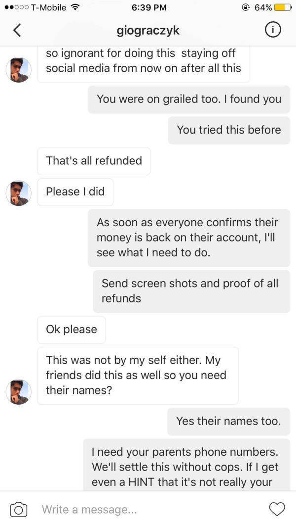 Little Scammer Gets Caught And Learns His Lesson The Hard Way