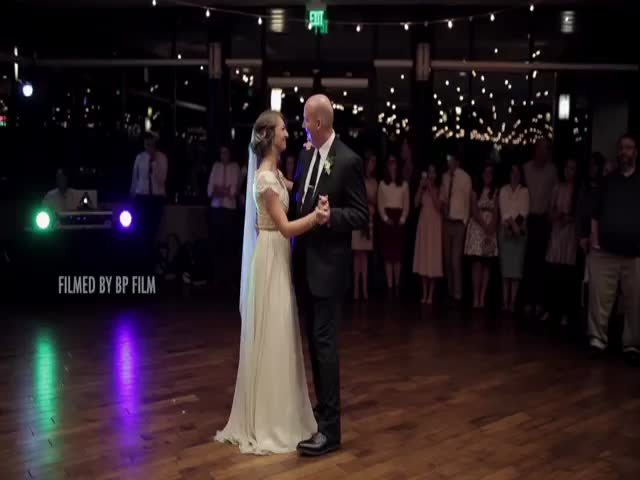 Epic Daddy And Daughter Surprise Wedding Dance