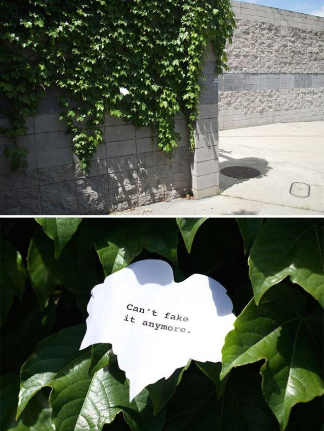 Artist From Sydney Leaves Subtle And Unusual Signs Around The City