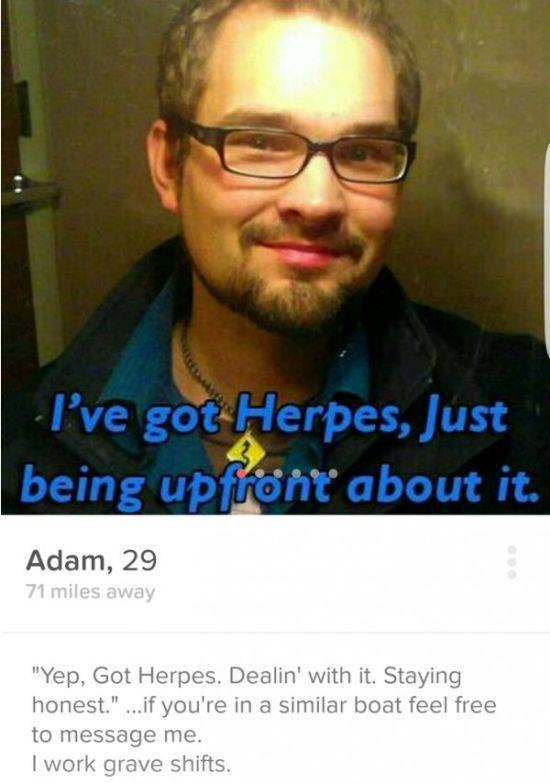 People On Tinder With Hilariously Crazy Profiles