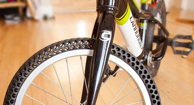 New Concept Bike Tires That Can't Get Flat