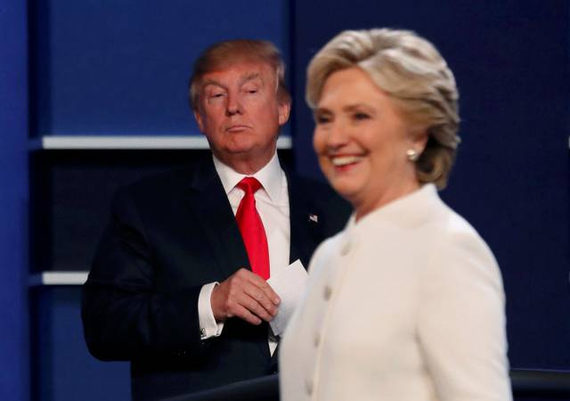 The Last Month Of US Presidential Elections In Photos