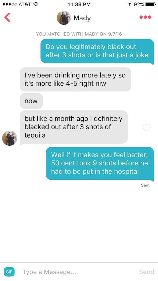 Guy Has Some Pretty Successful Tinder Pickup Lines Up His Sleeve