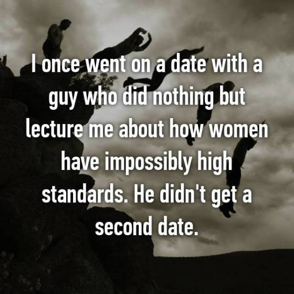 People Explain Why A Second Date Was A No-No