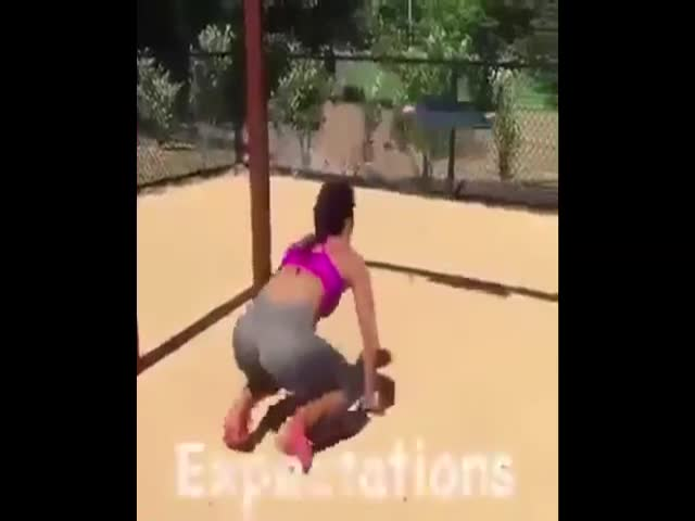 Fitness Swing Exercise: Expectations vs Reality