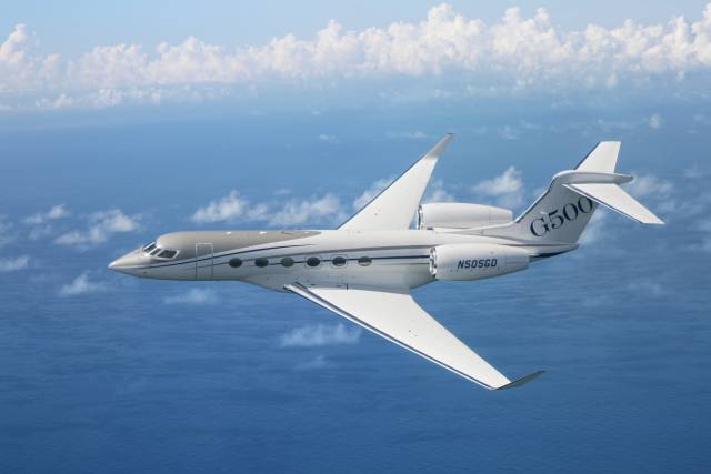 G500 Private Jet Is The Next Gulfstream