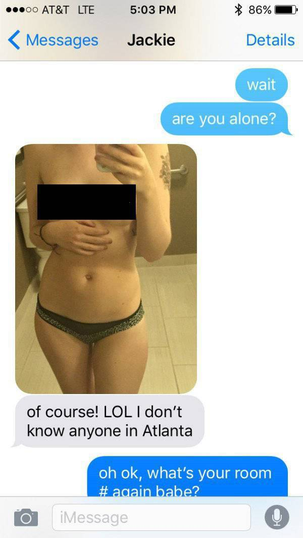 Girlfriend Sends Sexy Pics To Her BF But That's How He Finds Out She's Cheating On Him