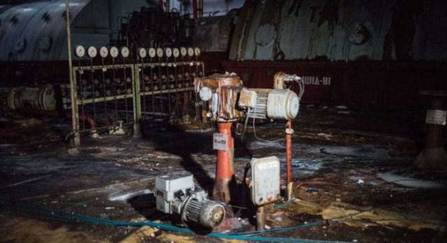Inside The Chernobyl Nuclear Power Plant