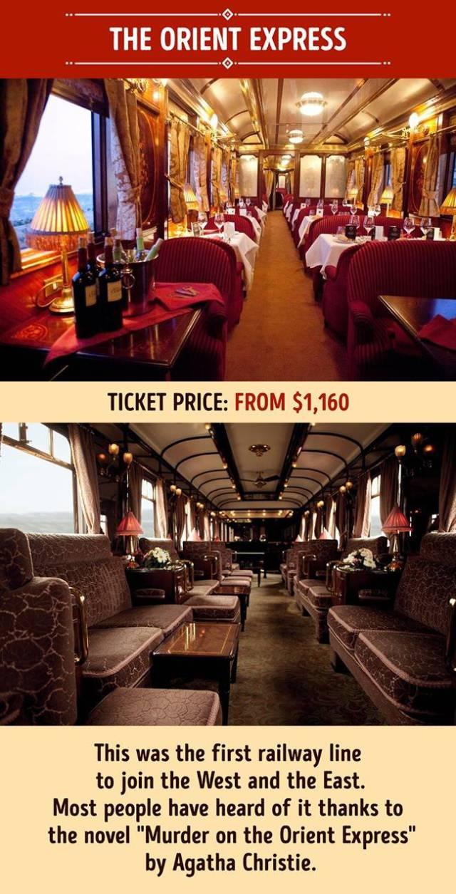 The Most Luxurious Trains Anyone Wish Could Take At Least Once