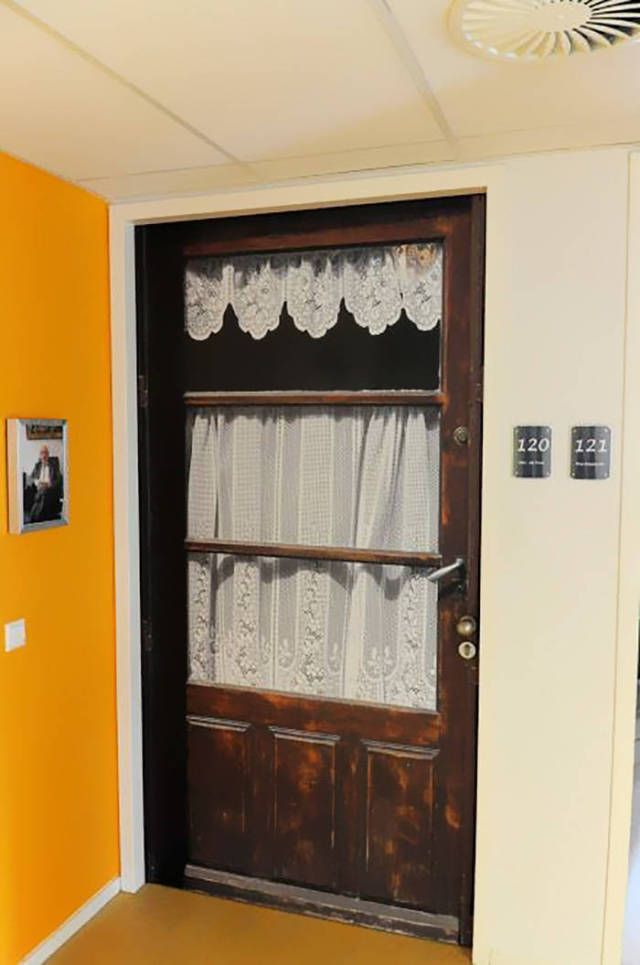 To Help People With Dementia Find Their Rooms Easily, Their Doors Are Being Recreated To Stand Out