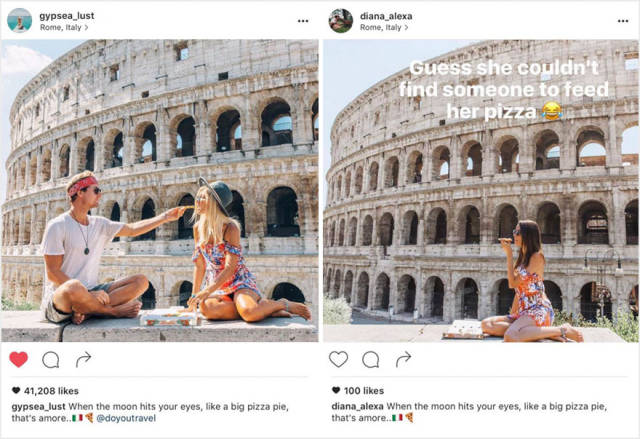 Travel Couple That Posts Their Adventures On Instagram Finds Out That They Have Copycats
