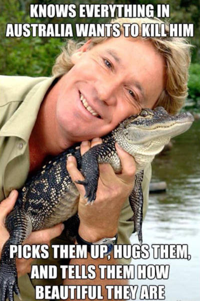 Let's Take A Walk Down A Memory Lane With Legendary Steve Irwin