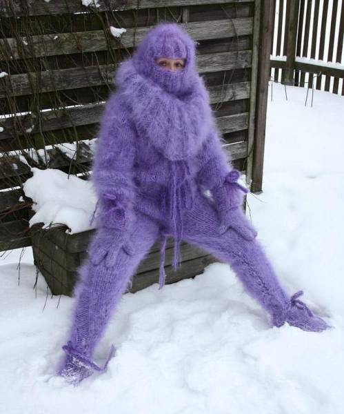 Winter Is Almost Here, Be Prepared With These Knitted Suits