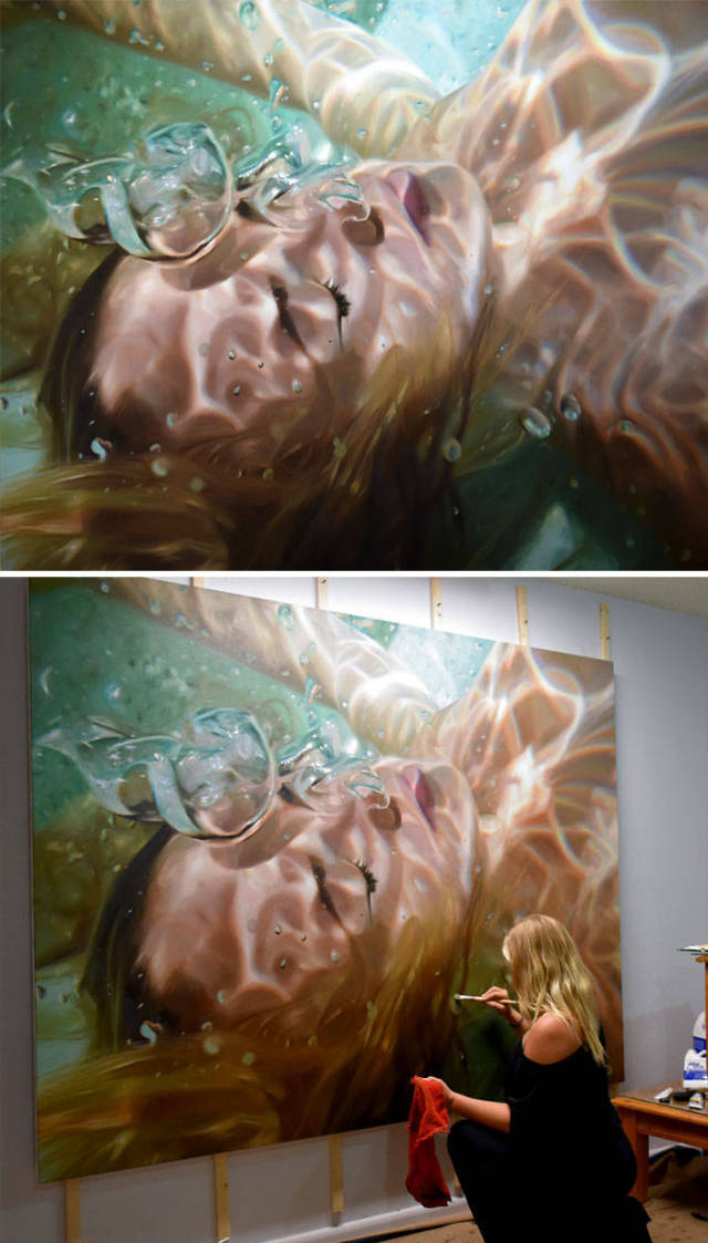 Compilation Of Mind-Blowing Paintings That Can Be Confused With Photos