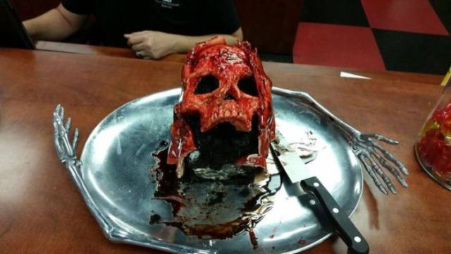The Necro Nom-Nom-Nomicon Is The Coolest And Scariest Cake You'll Ever See