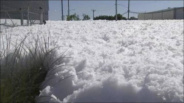 It May Look Like Snow But It Is Something Else