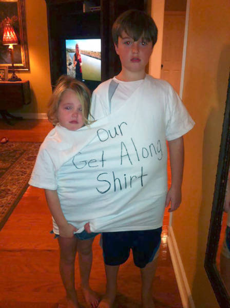 Parents Who Use A Humorous Approach To Handle Their Misbehaving Kids