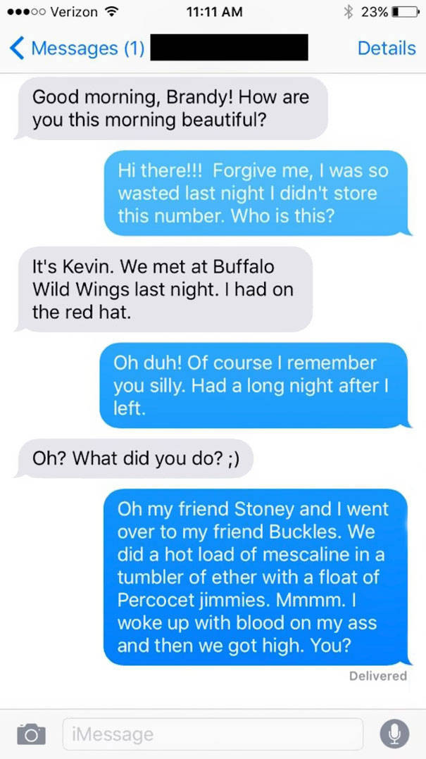 Girl Gives This Guy's Phone Number Instead Of Hers To Guys She Meets And He Trolls Them Royally