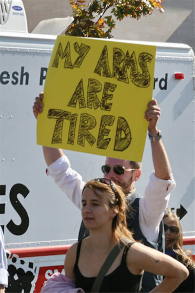 The Best Protest Signs Of All Time!