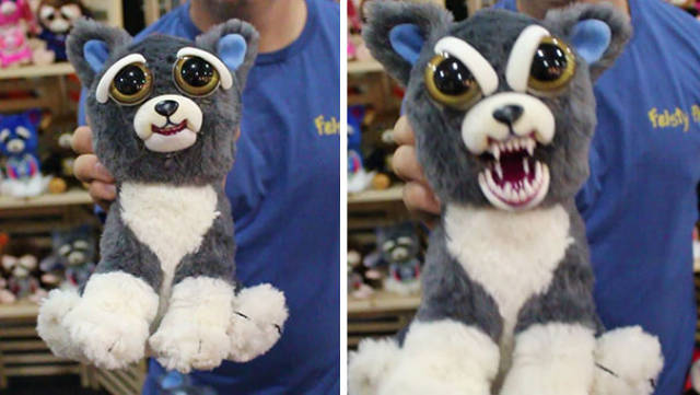 These Cute Stuffed Animals Can Become Scary With One Squeeze