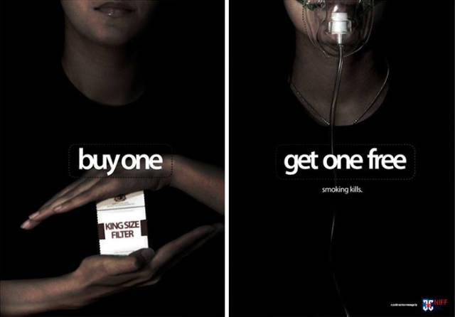 essay on anti smoking ad