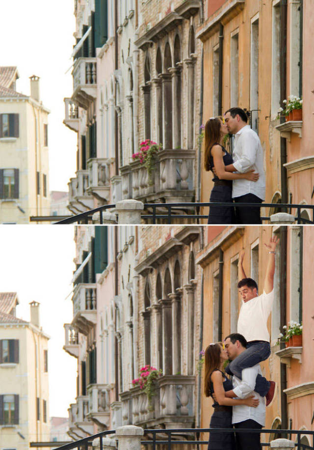 Guy Photoshops Himself On Stock Photos And It's Hilarious AF
