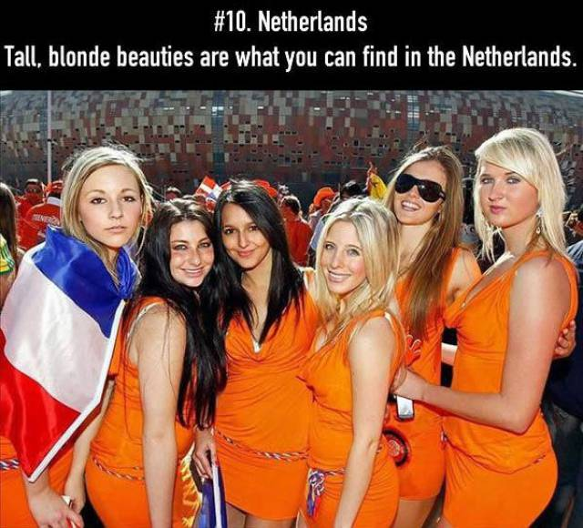 The Countries Where The World's Most Beautiful Women Live