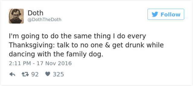 Funny Tweets About Thanksgiving That You'll Be Able To Relate To