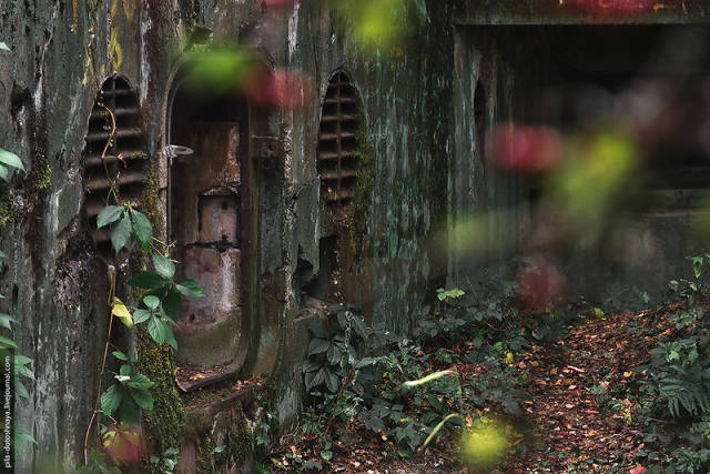 Inside Abandoned Camp Earthworm
