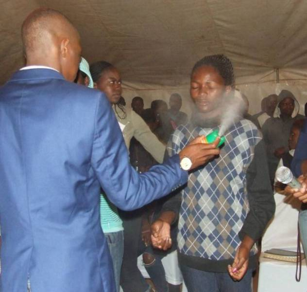 That's Not Your Ordinary Holy Water This Pastor Uses