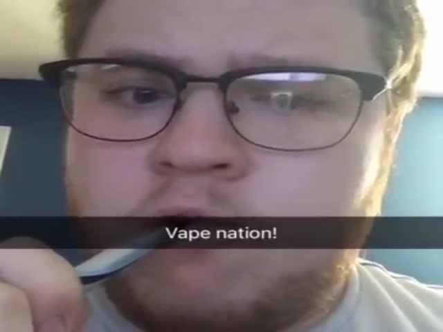 The Coolest Vape Trick Ever