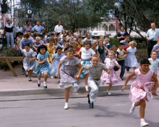 Captivating Photos From Disneyland's Opening Day