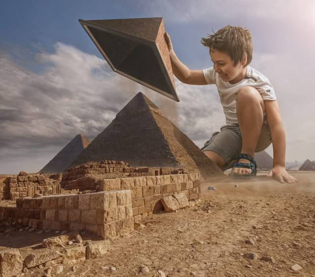 Creative Dad Photoshops His Son Into Different Surreal Scenarios