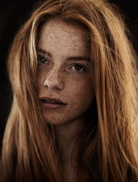 There Is Something About Red Hair Girls With Freckles