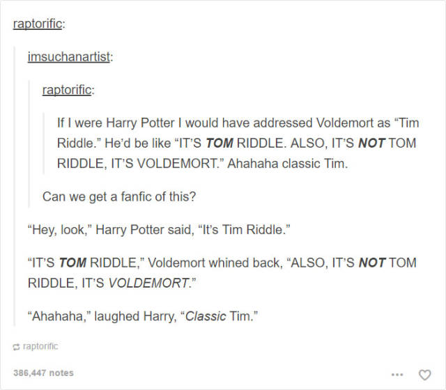 Tumblr Delivers Funny Harry Potter Posts That Will Crack You Up