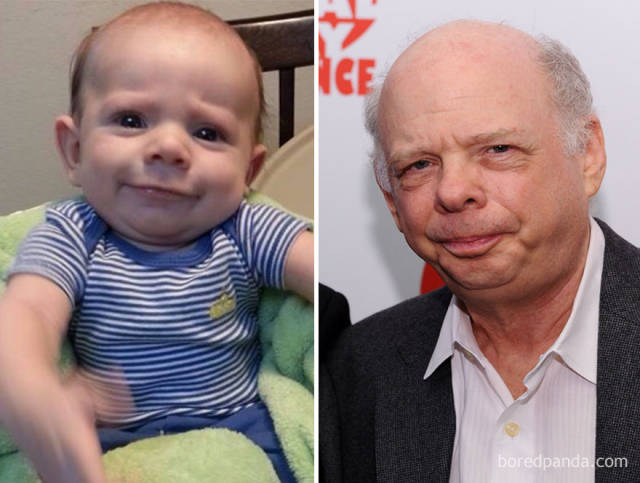 Celebrities And The Babies That Look Exactly Like Them