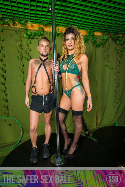 "Students Organized Raunchy Charity Party Called ""Safer Sex Ball"""