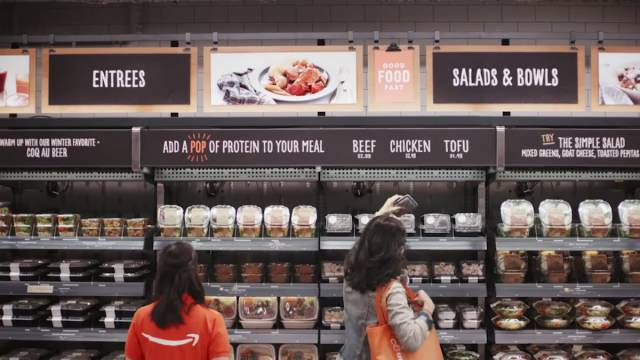 Amazon Presents Its Grocery Store Of The Future