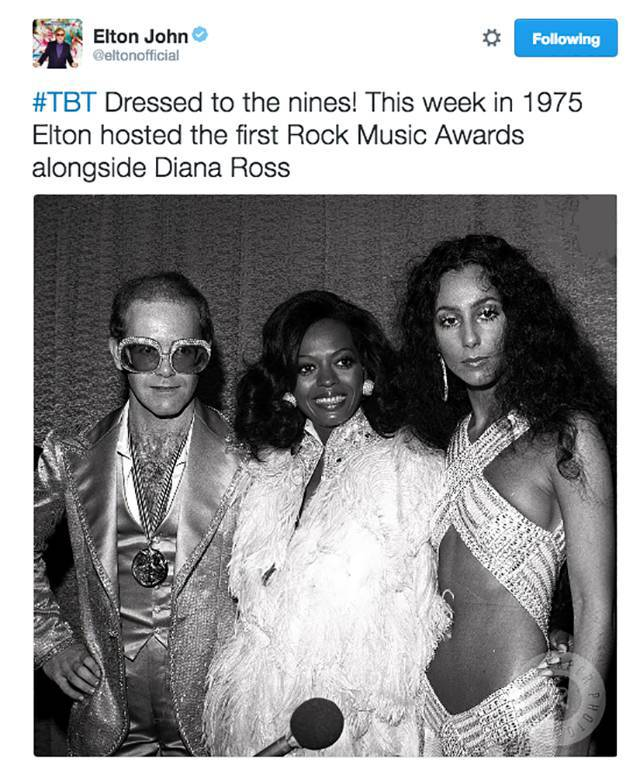 Celebrities Post Old Picture Of Themselves That Are Totally Priceless
