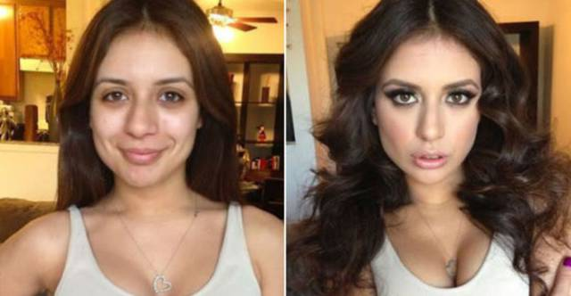 How Popular Porn Actresses Look With And Without Makeup 28 Pics Izismile Com