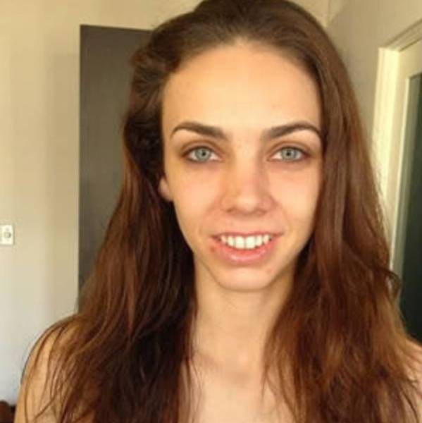How Popular Porn Actresses Look With And Without Makeup