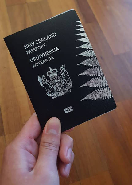 Asian Guy's Reaction After His Passport Was Rejected By The New Zealand
