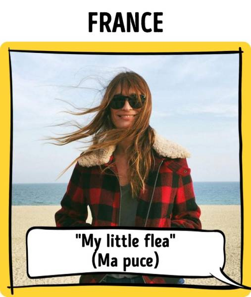 "Some ""Cute Names"" That Couples Give Each Other In Different Countries"