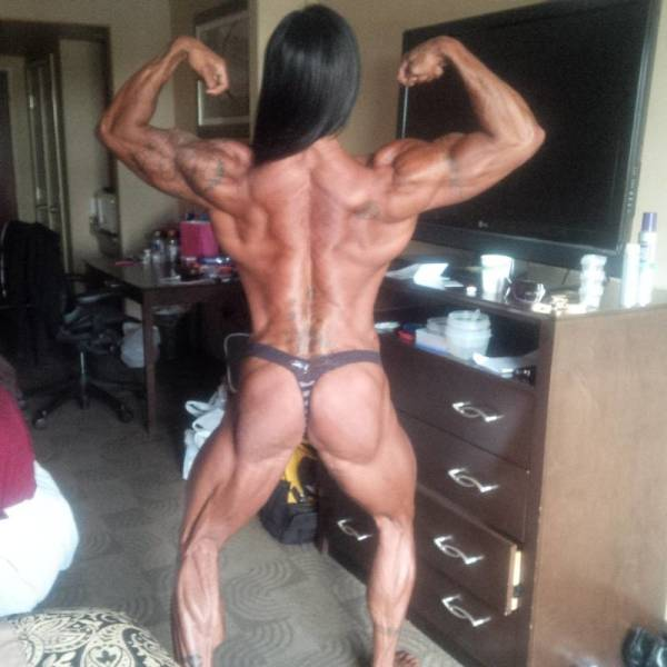 A Female Bodybuilder Like You've Never Seen Before