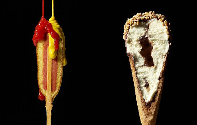 Fascinating Photos Of Different Items Cut In Half