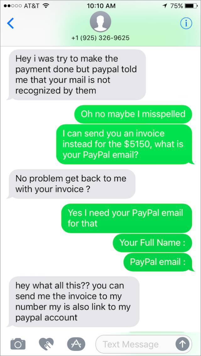 Scammer Wanted To Pawn A Bike Owner But Got Owned Instead