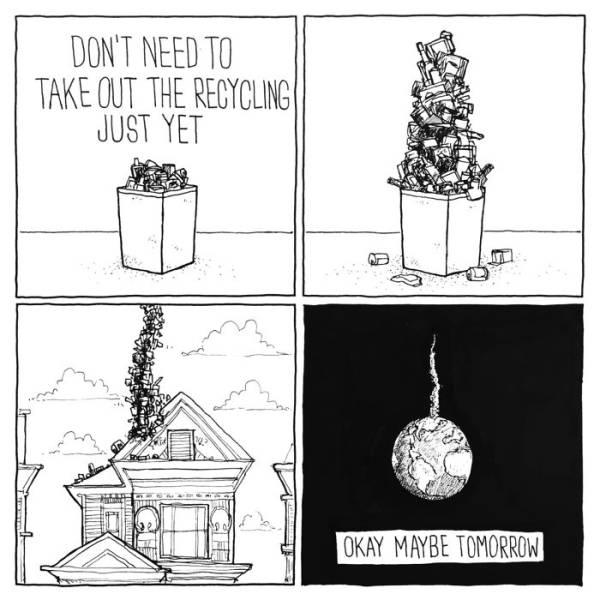 These Comics Are Both Hilarious And Really Sad
